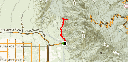 Tramway Trail  Map