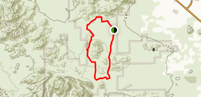 San Tan Loop Trail Map