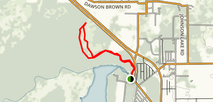 De Leon Springs Trail Map