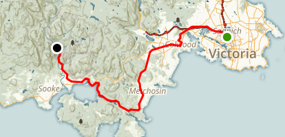 Galloping Goose Regional Trail Map