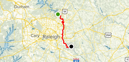 Neuse River Trail Map