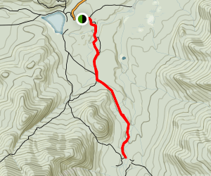 Marcy Dam Trail Map