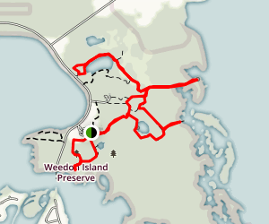 Weedon Island Preserve Trail Map