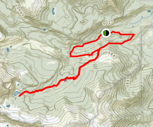 Finch Lake and Pear Reservoir Trail Map