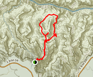 Grandview Trail Loop Map