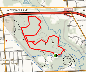 Wildwood Metropark Trail Map