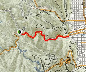 Boulder Canyon Creek Trail Map