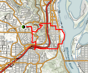 Hillsdale to the River Trail Map