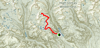 Picture Lake Trail Map