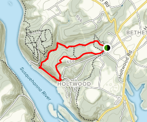 Kelly's Run Loop Trail Map