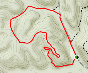 Rock Quarry Trail Map