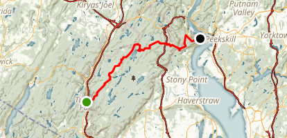 Ramapo-Dunderburg Trail Map