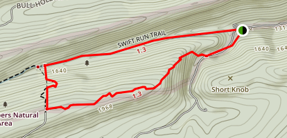 Swift Run Trail Map