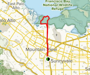 Stevens Creek Nature Study Area Trail Map