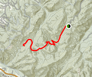 Little Dark Hollow Trail Map