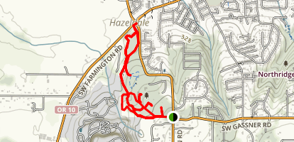 Jenkins Estate Trails Map
