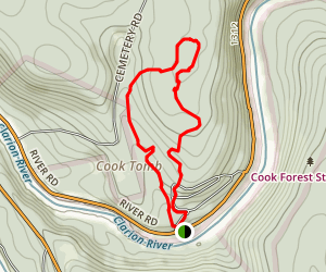 Cook Trail Map