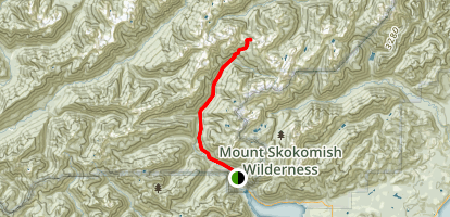 North Fork Skokomish River Trail Map