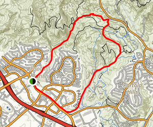 Whiting Ranch Trail Map