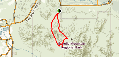 Coldwater-Butterfield Loop Trail Map