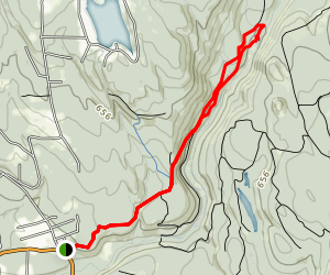 Cherry Creek Falls Trail Map