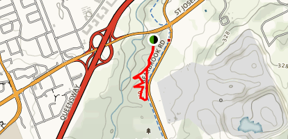 Green's Creek Trail Map