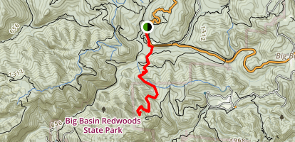 Pine Mountain Trail Map