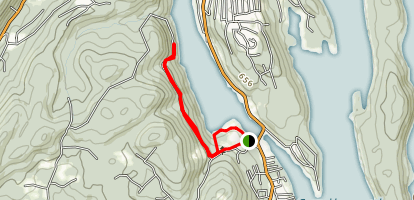 Squantz Pond Trail Map