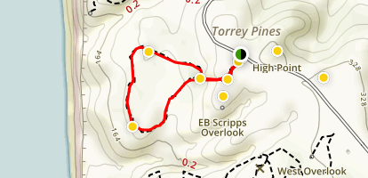 Parry Grove Trail in Whitaker Garden Map