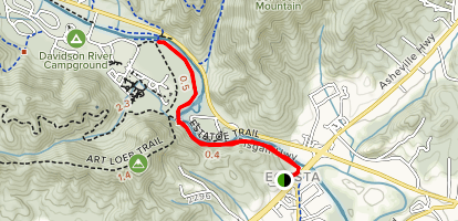 Estatoe Trail Map