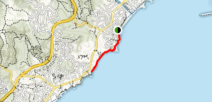 From Torre Valentina to Ses Torretes Map