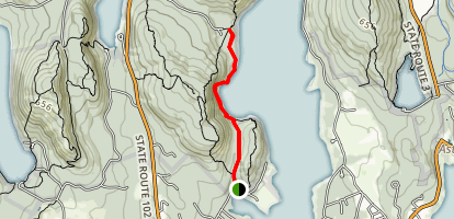 Valley Cove Trail Map