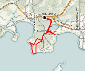 Coolidge Reservation Trail Map