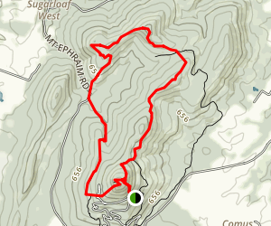 Sugarloaf Mountain and Northern Peaks Trail Map