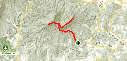 House Mountain Trail Map