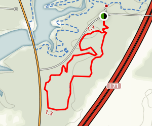 Alum Creek State Park Mountain Bike Trail - Beginner Map