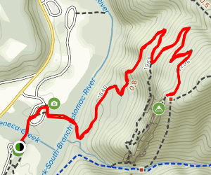Seneca Rocks Trail Map