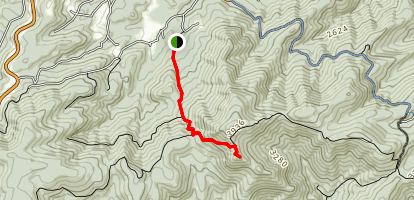 Spy Rock Trail Map