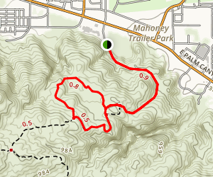 The Goat Trails [PRIVATE PROPERTY] Map