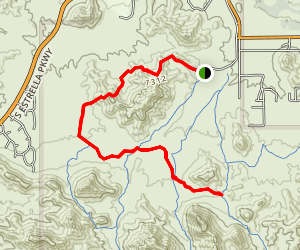 Dysart Trail Map