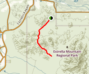 Toothaker Trail Map