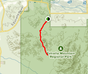 Coldwater Trail Map