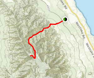 Israel Canyon Trail Map