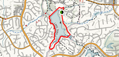 Bond Park Lake Trail Map