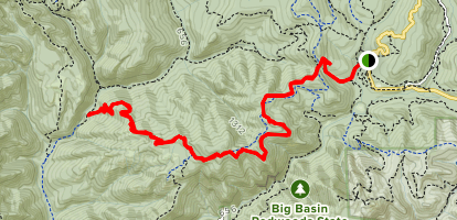 Howard King Trail Map
