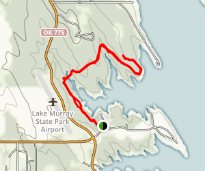 Lake Murry Mountain Bike Trail Map