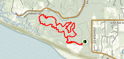 Kincaid Trails Map