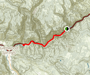 Glenwood Canyon Trail  Map