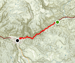 Glenwood Canyon: Riding the Interstate Map