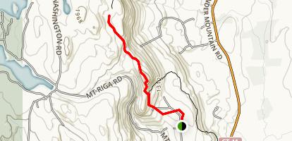 Lion's Head Trail Map